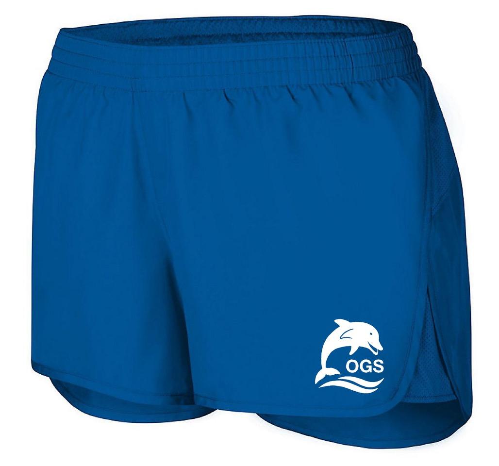 Royal Blue Girls Short