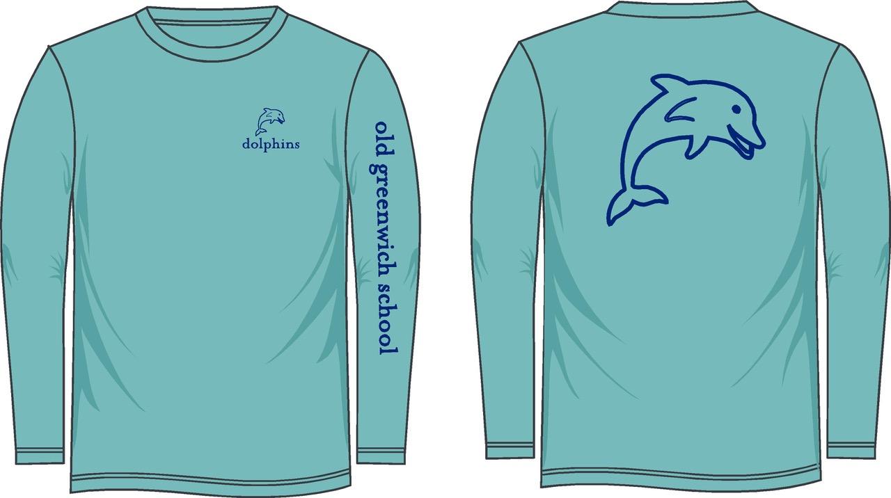 Long Sleeve T-Shirt Lagoon