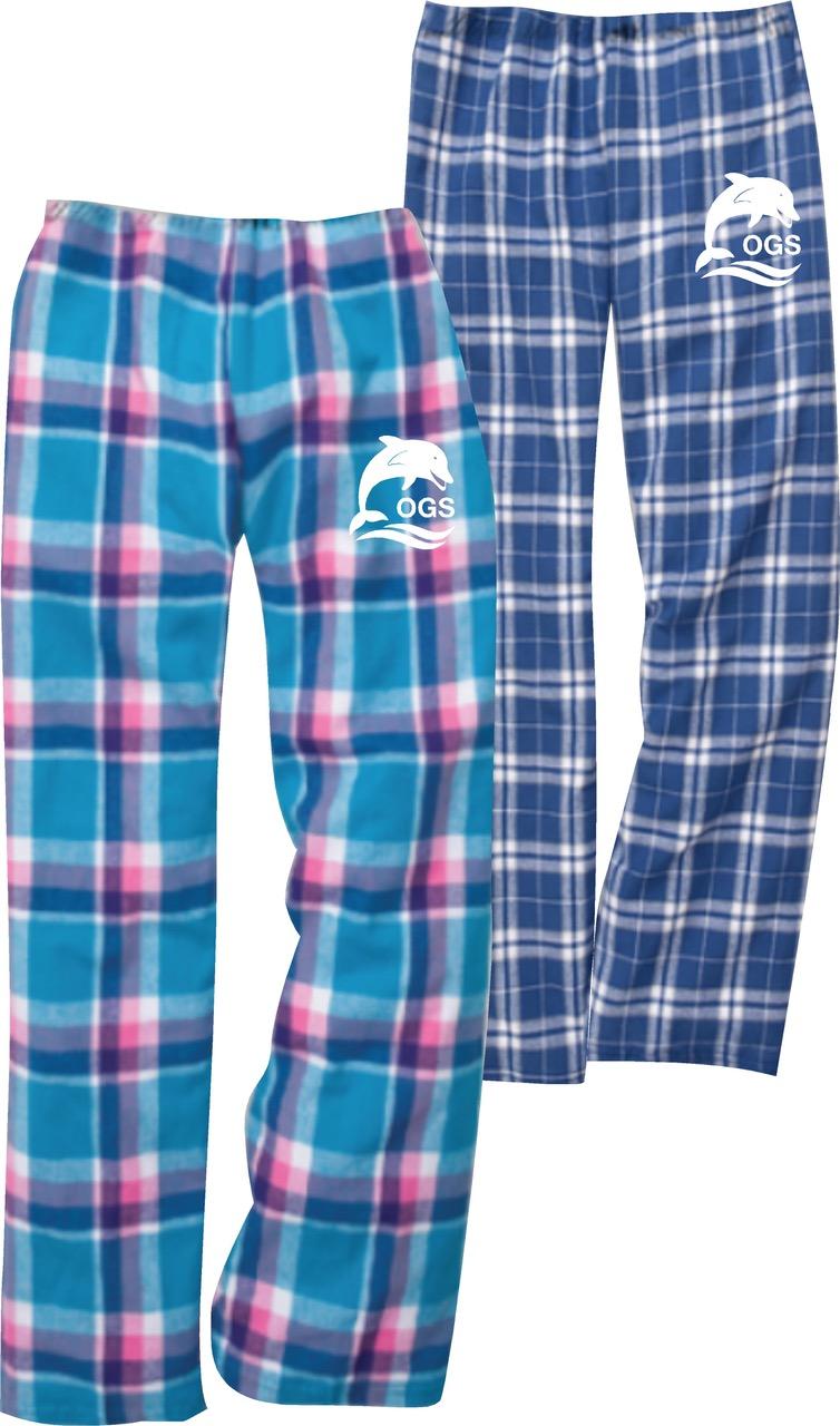 Plaid Flannel Lounge Pant *BLUE*