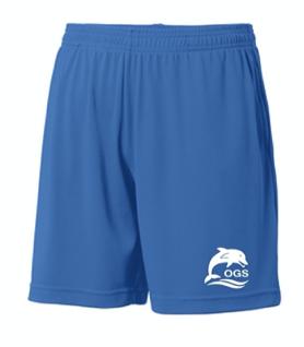 Royal Blue Boy's Long Shorts